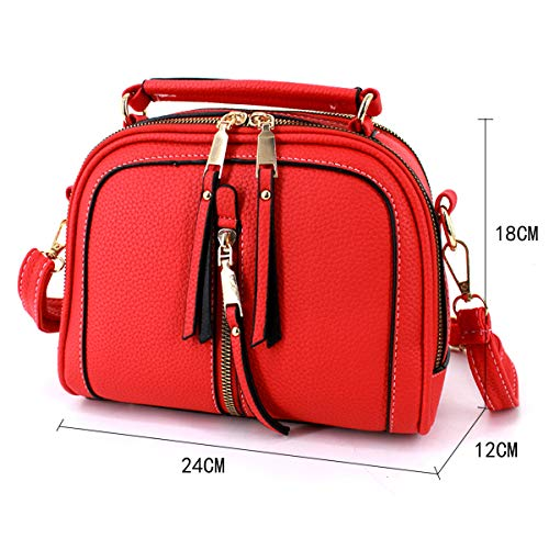 03090X Borsa a Red 1FS Rosso bb donna Red 02He tracolla AiSi 8dxqS8