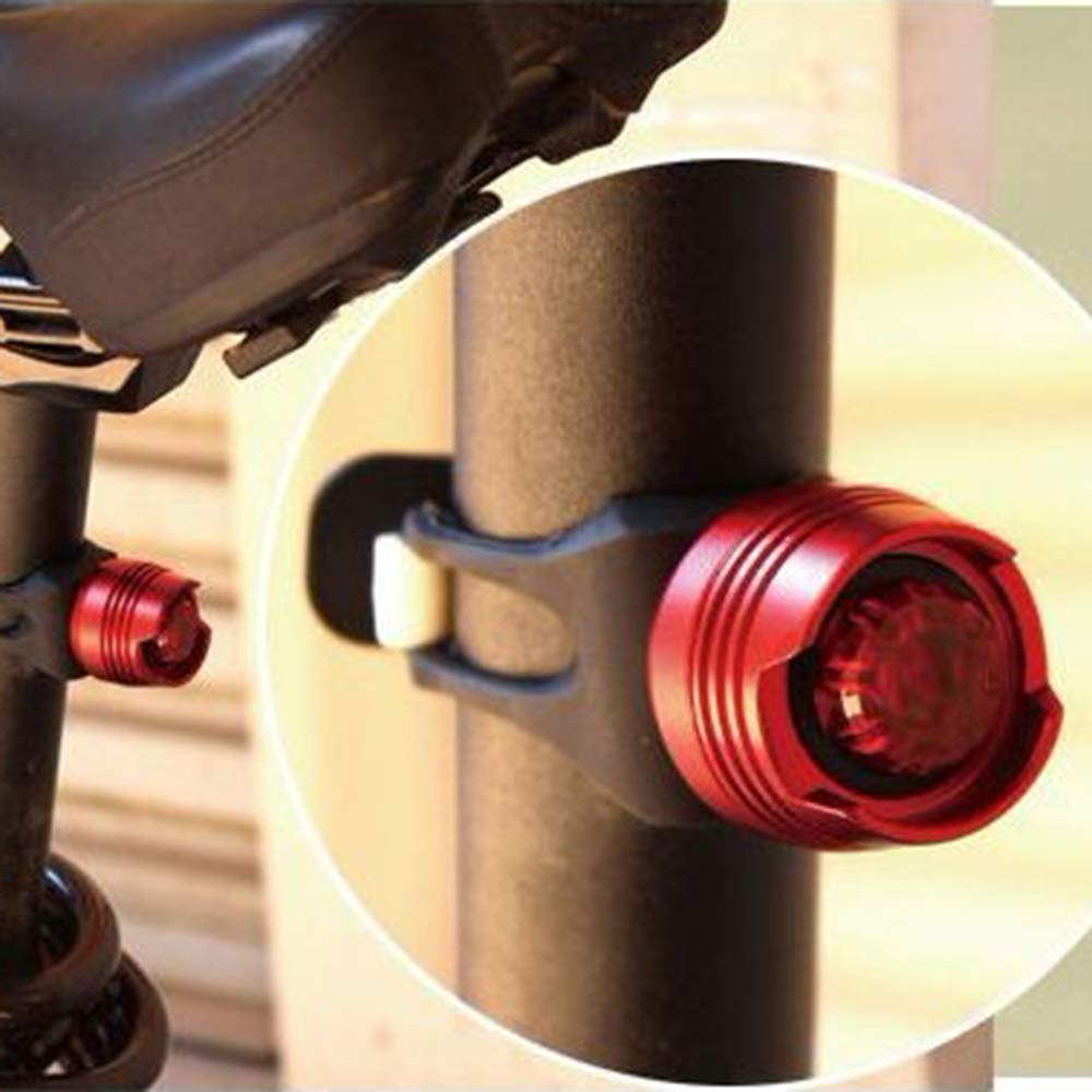 White/&Red Light-4Pack WitMoving Bike Lights LED Bicycle Light Front and Rear Bike Lights Set 3 Modes Water-Resistant Safety Bike Night Light for Cycling Safety