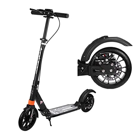 Amazon.com: LJHBC - Patinete de rueda, manillar ajustable ...