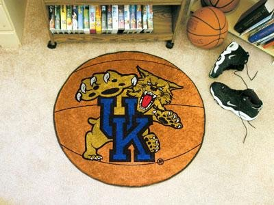 (Fanmats Kentucky Wildcats Basketball-Shaped Mat)