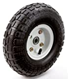 Farm & Ranch FR1055 10-Inch Pneumatic Replacement Turf Tire for Hand Trucks and Lawn Carts