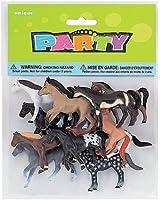 Plastic Horse Party Favors, 10ct