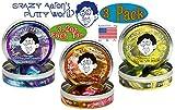 Crazy Aaron's Thinking Putty Super Illusions Super Scarab, Super Lava & Super Oil Slick Gift Set Bundle - 3 Pack