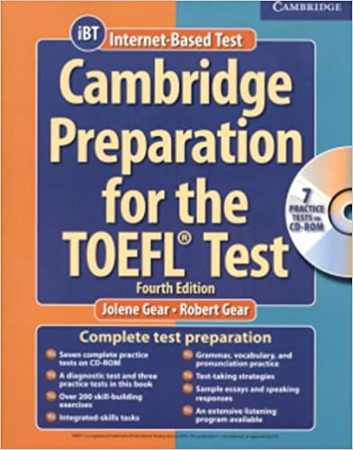 Amazon com: Cambridge Preparation for the TOEFL® Test: Book