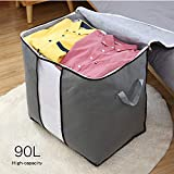 JERIA 90L Foldable Storage Bags, Set of 6 Extra