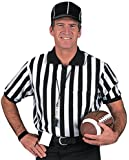 Dalco Men's Classic Football Referee Officials Shirt Short Sleeve Knit Collar