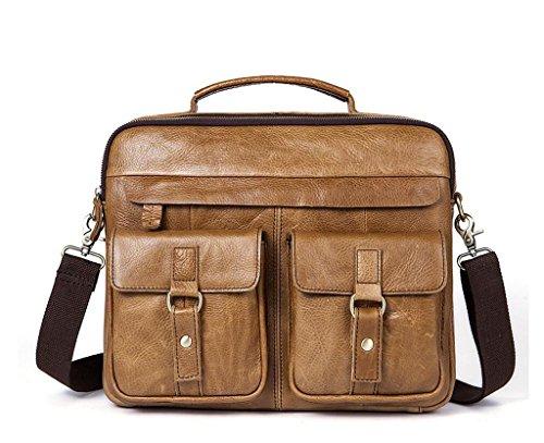 messenger borsa tracolla in retro 5 pelle borsa uomo pazzo da in SHOUTIBAO pelle a Borsa 7 da cavallo borsa uomo Twz8q6n