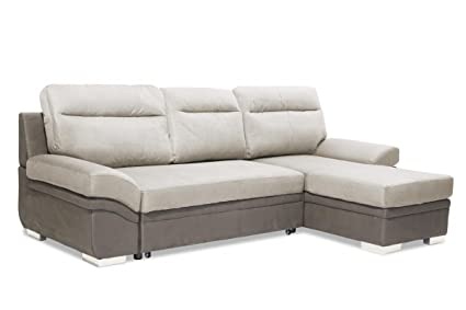 Superb Ayma Home Jessica 2 Seater Sofa With Chaise Linen Grey Caraccident5 Cool Chair Designs And Ideas Caraccident5Info