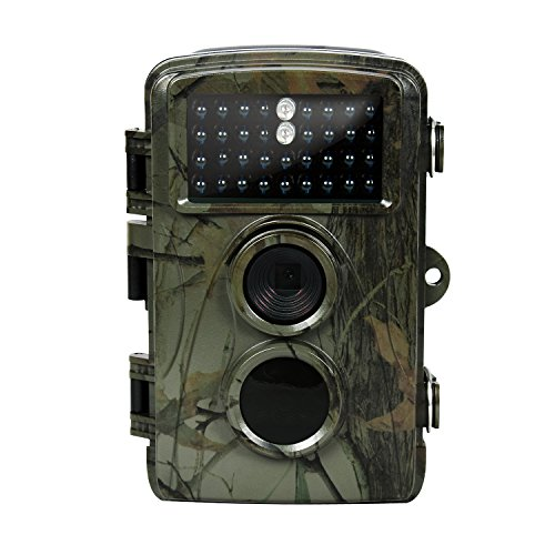 Trail Hunting Camera IP56 Waterproof Night Vision Trail Game Camera For Outdoor Monitoring 0.6S Trigger Speed And 65ft Trigger Distance Wildgame Cam DM-003 by DM