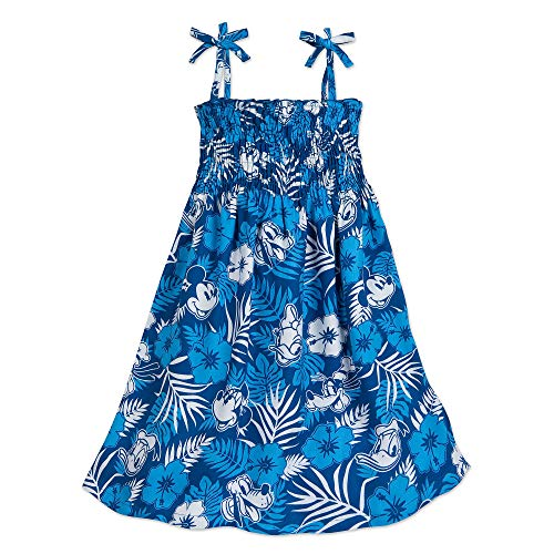 Disney Mickey Mouse and Friends Aloha Dress for Girls Hawaii Size 4 Multi