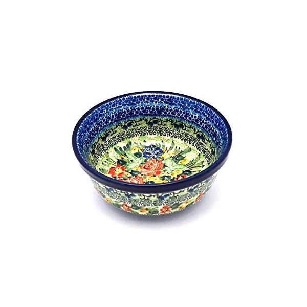 Polish Pottery Bowl – Soup and Salad – Unikat Signature – U4400