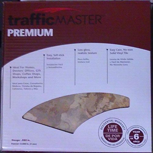Slate 12 in. x 12 in. Solid Vinyl Tile (30 sq. ft./case) (Beige Slate)