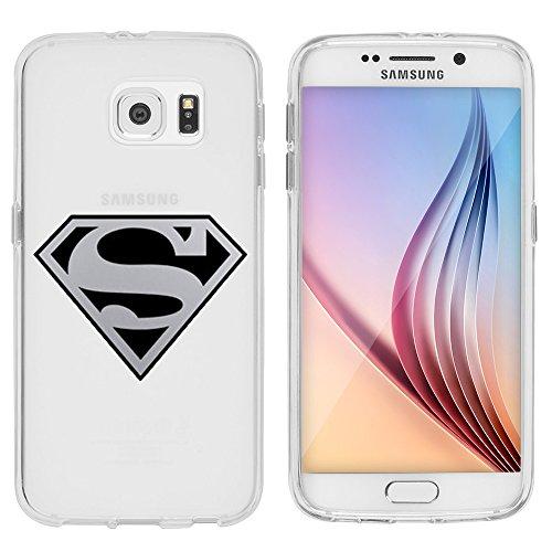 Samsung Galaxy S7 Caso por licaso® para el patrón de Samsung Galaxy S7 Snoopy Peanuts Charly Brown Amigos TPU de silicona ultra-delgada proteger su Samsung Galaxy S7 es elegante y cubierta regalo de c Superman