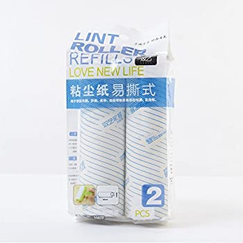 Amazon Com Sticky Roller Refills 2 Pack Replacement Rolls