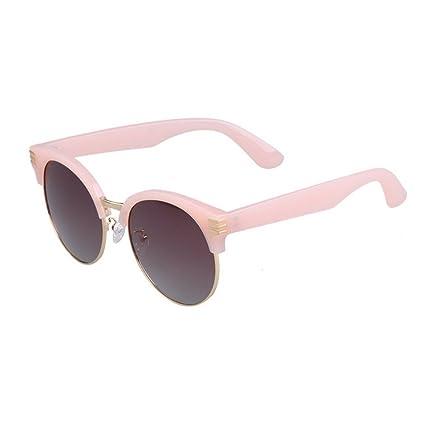 Gafas de Sol polarizadas Vintage TR90 Semi-sin Montura de Las Mujeres para la Conducción