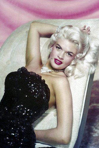 Jayne Mansfield Poster Iconic Studio Color Glamour Pose Hollywood Icon