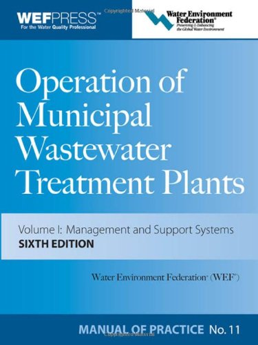 Operation Of Municipal Wastewater Treatment Plants 3 Volume Set Buy Online In Uae