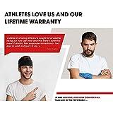 Self Pro Mens Headbands 2 Pack Guys Sweatband & Sports Headband for Running, Cross Training, Racquetball, Working Out - Performance Stretch & Moisture Wicking