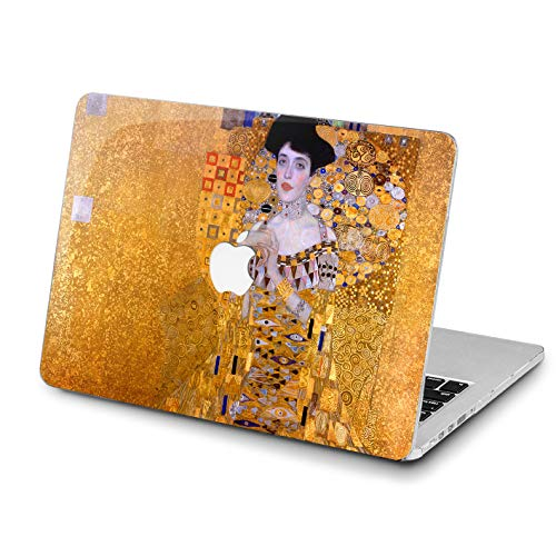 Lex Altern Portrait of Adele 1907 Case MacBook Pro 13 inches 15 12 11 2018 Air 2017 Retina Bloch Bauer Cover Hard Shell Apple 2017 2016 Famous Artist Laptop Girl Women Print Touch Bar A1989 A1706 Top -