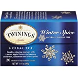 Twinings Herbal Tea, Winter Spice, 20 Count, package may vary