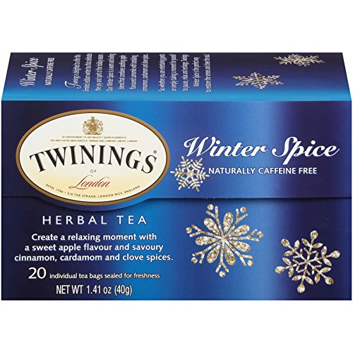 (Twinings of London Winter Spice Herbal Tea Bags, 20 Count)