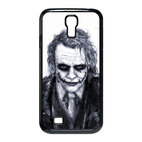 Batman The Joker Why so Serious Handsome Unique SamSung Galaxy S4 I9500 Durable Hard Plastic Case Cover Personalized Treasure (Serious Man Poster)