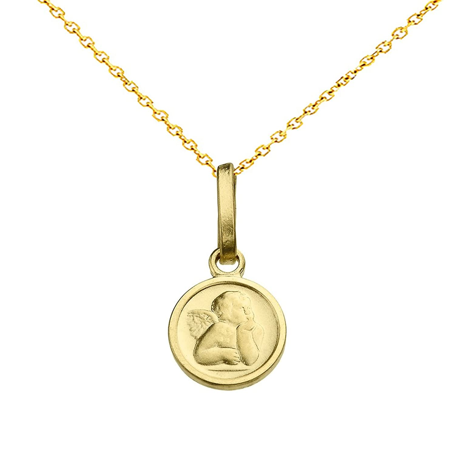 high with quality of baptism pendant front medal gold miraculous beautiful necklace sommersparkle a products