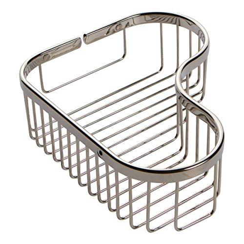 Ginger Splashables Corner Shower Basket - 505L/PN - Polished Nickel