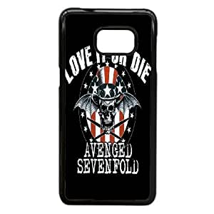Samsung Galaxy Note 5 Edge Cell Phone Case Black Avenged Sevenfold Plastic Durable Cover Cases NYTY206512