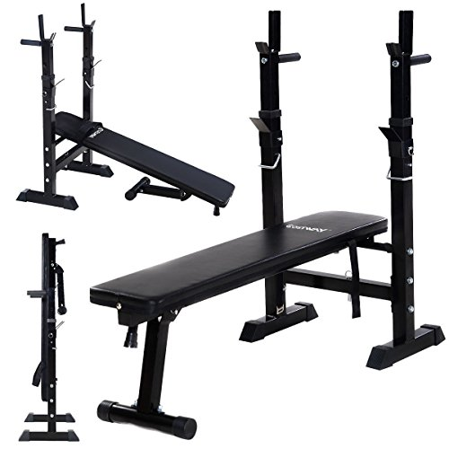 Incline Bench Fitness Workout Adjustable Folding Weight Lifting Flat by Apontus