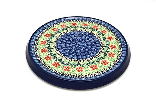 - Polish Pottery Trivet - Maraschino