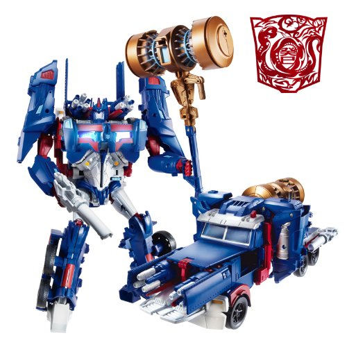 TRANSFORMERS PLATINUM 2013 YEAR OF SNAKE ASIAN EXCLUSIVE ULTRA MAGNUS ACTION FIGURE