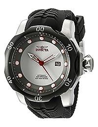 Invicta Men's 19308 Venom Analog Display Japanese Automatic Black Watch
