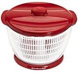 KitchenAid Professional Salad & Fruit Spinner, Red