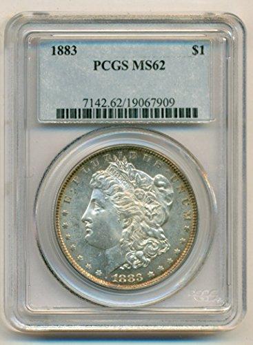1883 Morgan Silver Dollar MS62 PCGS