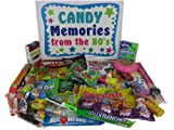 Retro Nostalgic 1980s Candy Gift Basket Box Memories From the '80s