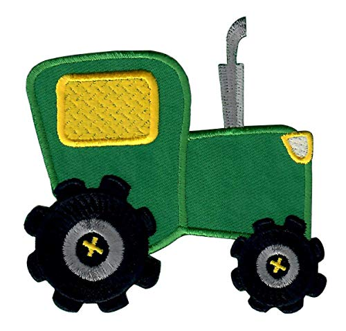 PatchMommy Iron On Patch, Tractor - Appliques for Kids ()