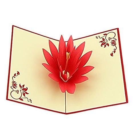 Amazon.com: yepmax 3d Pop Up Cards – Tarjetas de ...