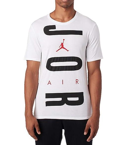 78afba89ab880 Nike Men's Jordan Air Wordmark T-Shirt