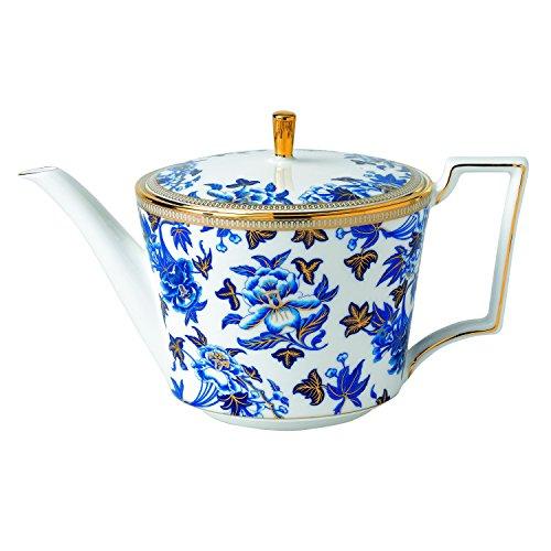 Wedgwood Hibiscus Teapot (Wedgwood Set Teapot)