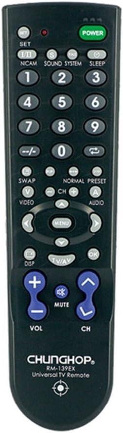 Universal de Control Remoto del televisor 3-Way de búsqueda fácil de código Inteligente a Distancia del televisor Samsung LG Televisión Panasoinc Philips Sony NEC Hitachi Multifuncional Remoto: Amazon.es: Electrónica