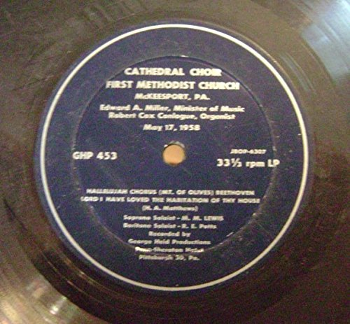 First United Methodist Church - McKeesport Pa Church LP (1958)