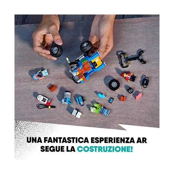 LEGO Hidden Side il Buggy da Spiaggia di Jack, Dai la Caccia ai Fantasmi Nella Realtà Aumentata in Modalità Single o… 6 spesavip