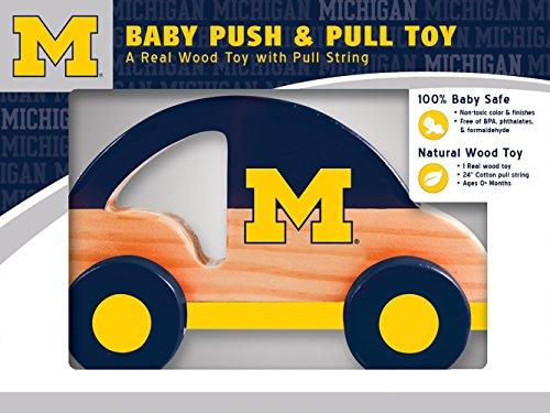 MasterPieces NCAA Michigan Wolverines Push & Pull