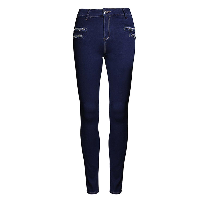 Women's Slim Skinny Jeans Trousers Pencil Pants