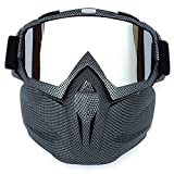 Unisex Cycling Ski Goggles Sunglasses Dustproof Glasses Safety Goggle Mask Cover Protective - Anti-Fog Anti-Glare for Motocross Racing Car Skiing Snowboarding,Gray