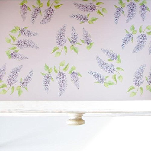 The Master Herbalist 5 Lilac Scented Drawer Liners England by Master Herbalist