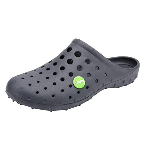 Zapatillas Verano Hombres Moda Pisos Zapatos de Playa Mar Non-Slip Respirable Agujero Zapato: Amazon.es: Zapatos y complementos