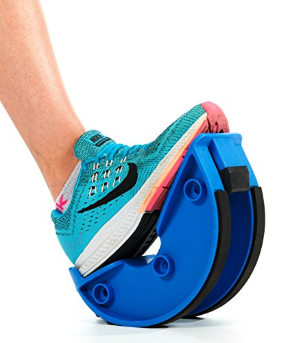 Foot Rocker. Durable Calf Stretcher Device for Achillies Tendonitis. Improve Plantar Fasciitis, Calf Flexibility, Ankle Mobility. Feet and Shin Splint Relief. Great for Physical Therapy, Athletes, Phy by Natural Chemistree (Image #1)