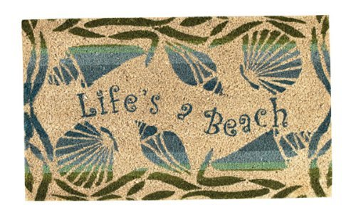 Park Designs Life's A Beach Doormat (Patio Themed Beach)